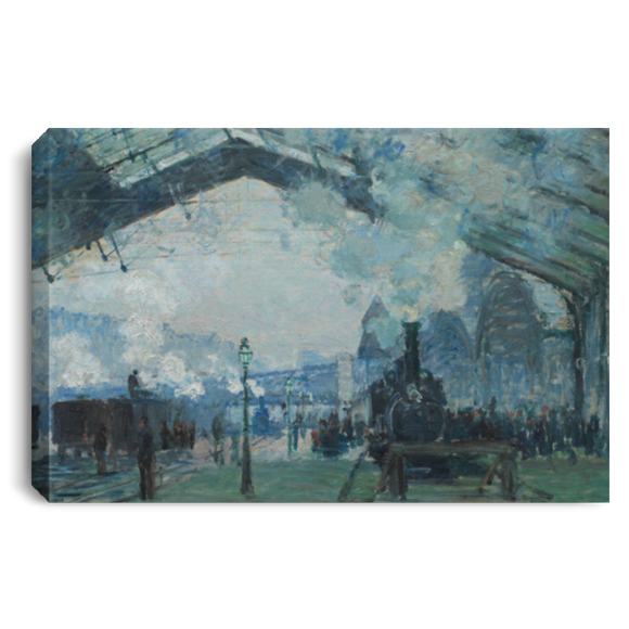 Arrival of the Normandy Train by Monet - Wall Art Canvases