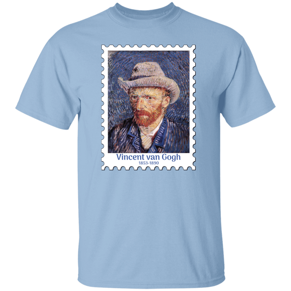 Vincent van Gogh Self Portrait with Felt Hat 1887-88 v2 T-Shirt