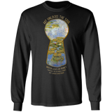 Water Lilies by Monet - Through the Keyhole Series LS Ultra Cotton T-Shirt