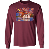Port Townsend State of Mind by Tocher - LS Ultra Cotton T-Shirt
