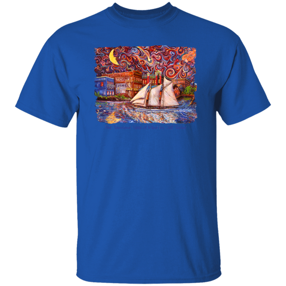 Port Townsend State of Mind by Tocher T-Shirt