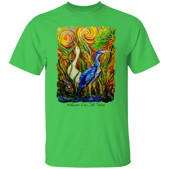 Wetlands 2 by Tocher - T-Shirt