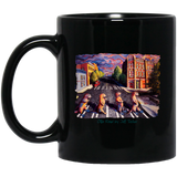 Otter Road by Tocher - Black Mugs