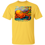 Octopi Port Angeles by Tocher - T-Shirt