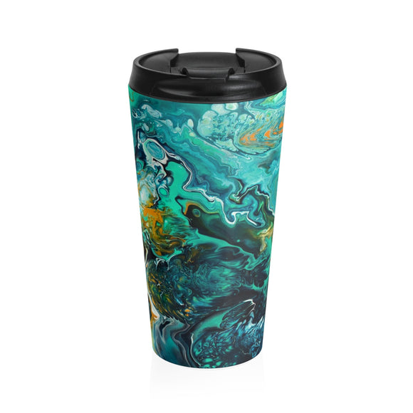 Neptune II by DeScala - Stainless Steel Travel Mug