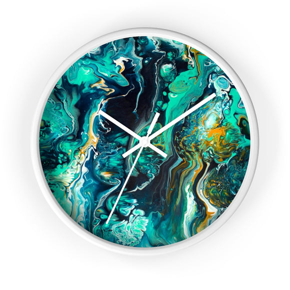 Neptune by DeScala Wall clock