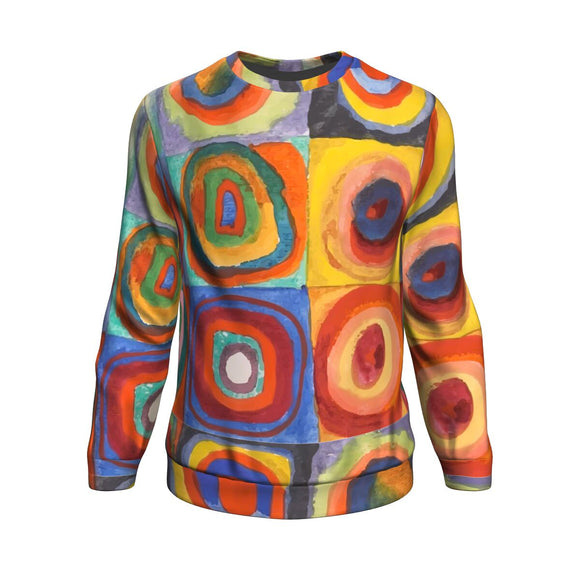 Squares with Concentric Circles by Kandinsky - Sweatshirt