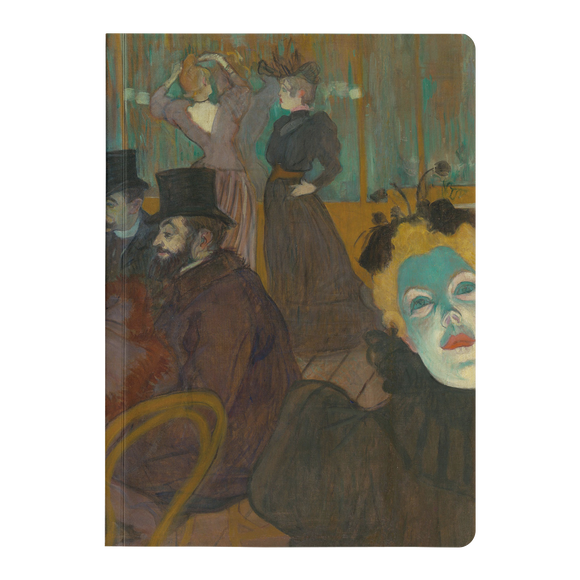 At the Moulin Rouge by Toulouse-Lautrec - Paperback Journal