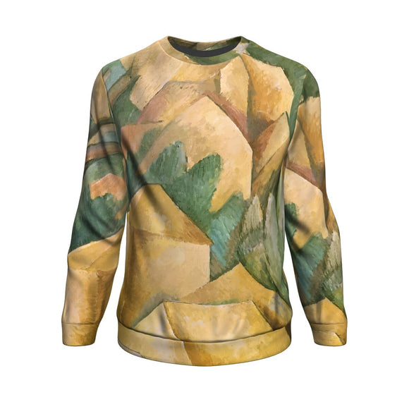 Houses at l'Estaque by Braque - Sweatshirt