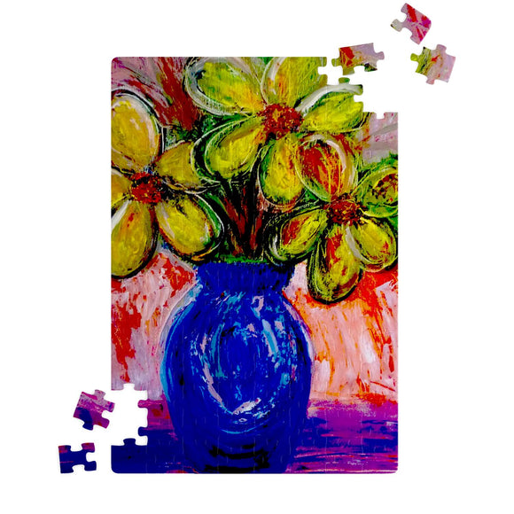 Vase of Flowers by Lumens - Jigsaw Puzzles