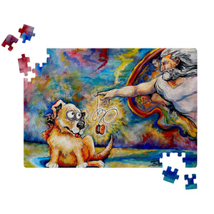 God Explains String Theory by Tocher - Jigsaw Puzzles