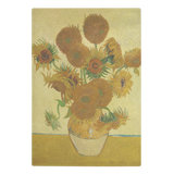 Sunflowers by van Gogh - Glass Cutting Board