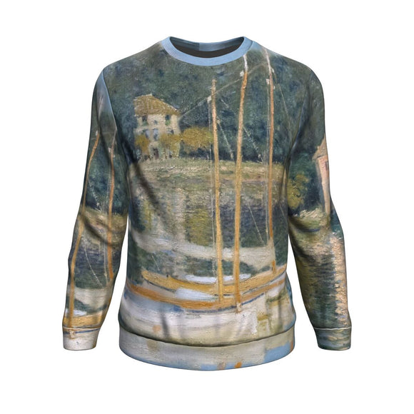 Le Pont d'Argeneuil by Monet - Sweatshirt