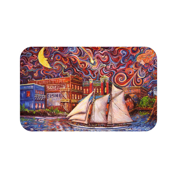 Pt Townsend State of Mind by Tocher - Bath Mat