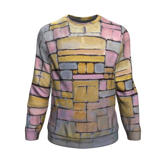 Tableau No. 2 Composition No. 5 by Mondrian - Sweatshirt