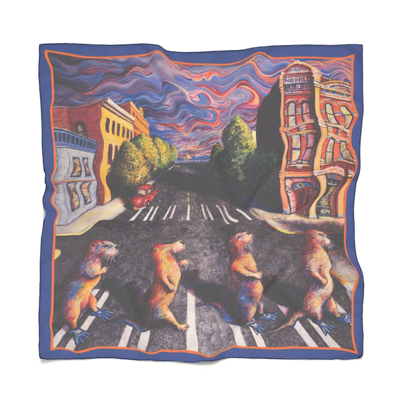 Otter Road by Tocher - Poly Scarf