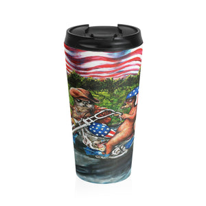 Easy Otter by Tocher - Stainless Steel Travel Mug