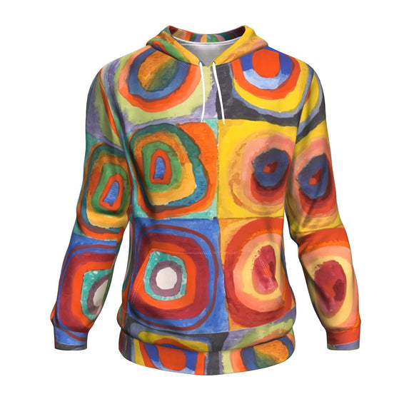 Squares with Concentric Circles by Kandinsky - Hoodie