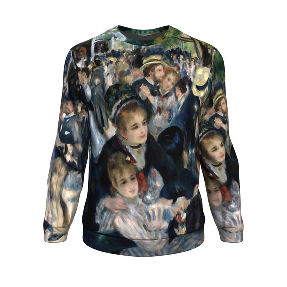 Dance at le Moulin de la Galette by Renoir - Sweatshirt
