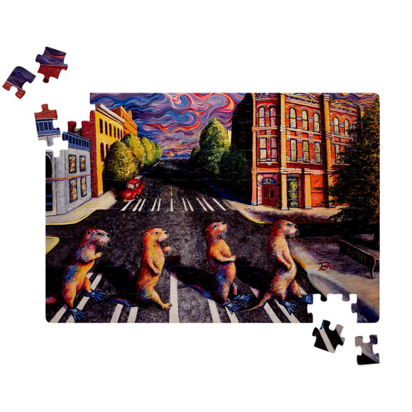 Otter Road by Tocher - Jigsaw Puzzles
