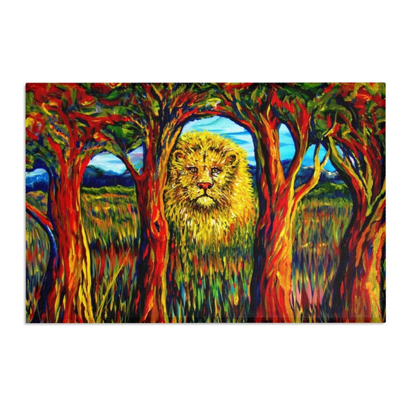 Soul Lion by Tocher Area Rugs