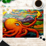 Octopi Port Angeles by Tocher - Jigsaw Puzzles