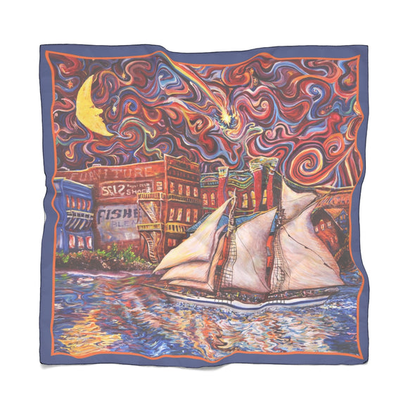 Pt Townsend State of Mind by Tocher - Poly Scarf