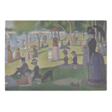 A Sunday on La Grande Jatte by Seurat - Glass Cutting Board