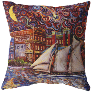 Pt Townsend State of Mind by Tocher - Throw Pillows