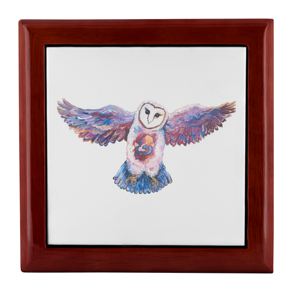 Owl Spirit by Tocher - Jewelry Box