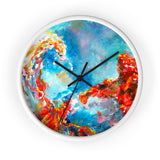 Tsunami by Tocher - Wall clock