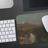 View of Cotopaxi by Church - Mousepad