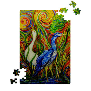 Wetlands 2 by Tocher - Jigsaw Puzzles