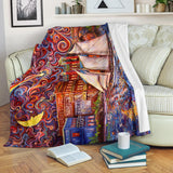 Pt Townsend State of Mind by Tocher - Premium Blankets