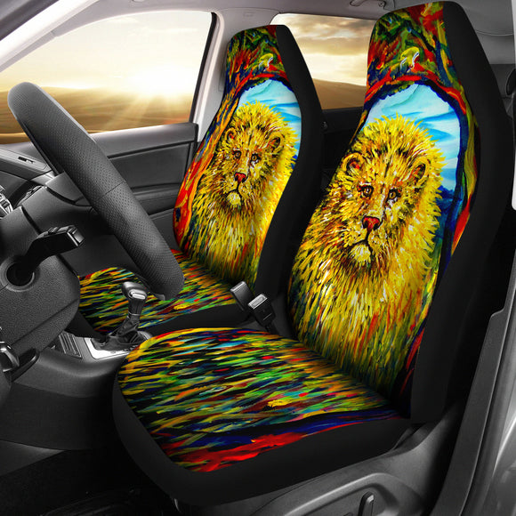 Soul Lion by Tocher - Car Seat Covers