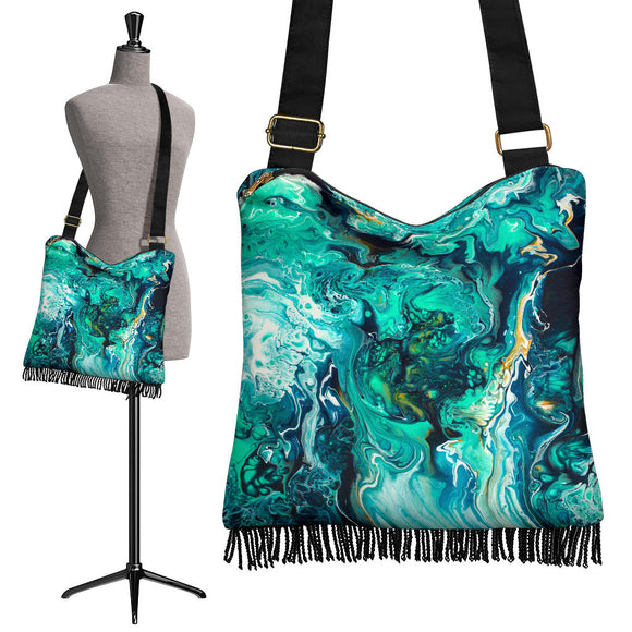 Neptune by DeScala - Crossbody Boho Handbag