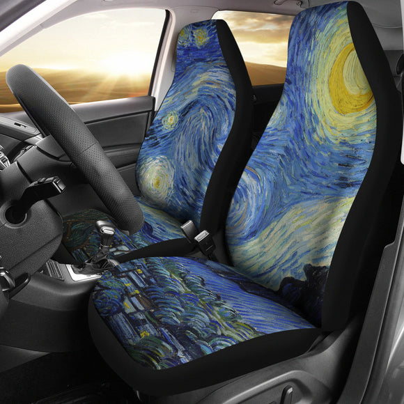Starry Night by van Gogh - Car Seat Covers