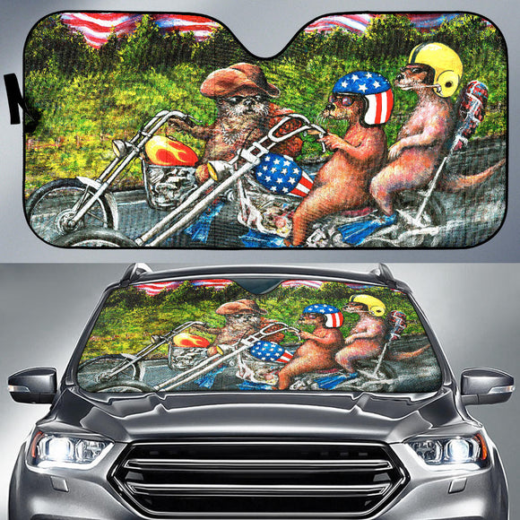 Easy Otter by Tocher - Auto Sunshade