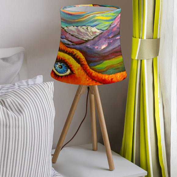 Octopi Port Angeles by Tocher - Drum Lampshade