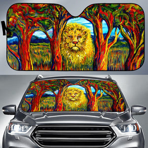 Soul Lion by Tocher -  Auto Sunshade