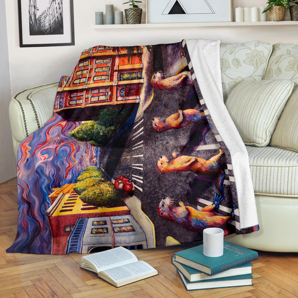 Otter Road by Tocher - Premium Blankets