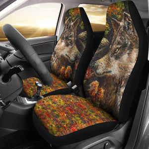 Wolf by Tocher - Car Seat Covers