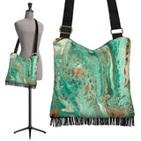 Mint Jubilee by DeScala - Crossbody Boho Handbag