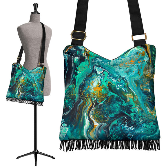 Neptune II by DeScala - Crossbody Boho Handbag