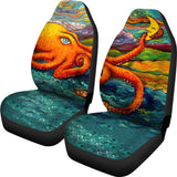 Octopi Port Angeles by Tocher - Car Seat Covers