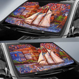 Pt Townsend State of Mind by Tocher - Auto Sunshade