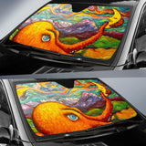 Octopi Port Angeles by Tocher - Auto Sunshade