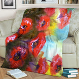 Poppies by Lumens - Premium Blankets