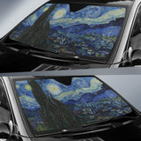 Starry Night by van Gogh - Auto Sunshade