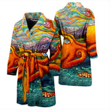 Octopi Port Angeles by Tocher - Men's and Women's Bathrobes